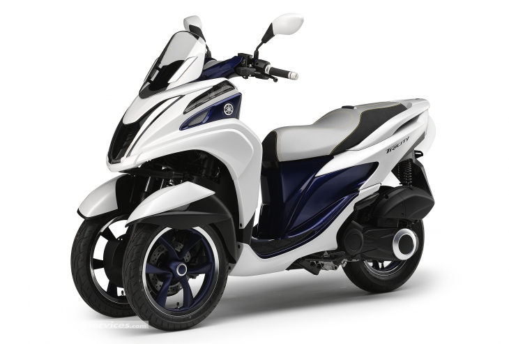 Yamaha Tricity 3 roues